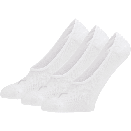 Women's Select Terry Liner Socks [3 Pack], WHITE, small